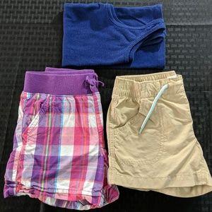 6-7 Girls Shorts and Tank Bundle